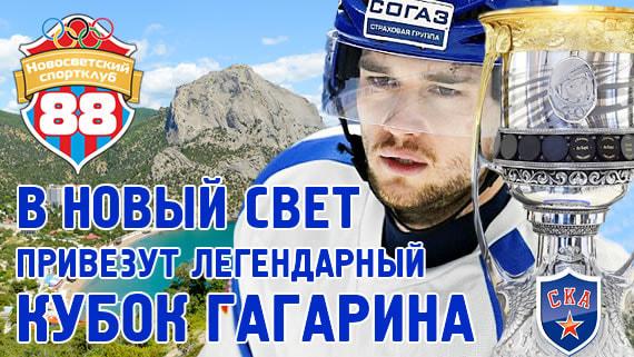В Новый Свет привезут Кубок Гагарина