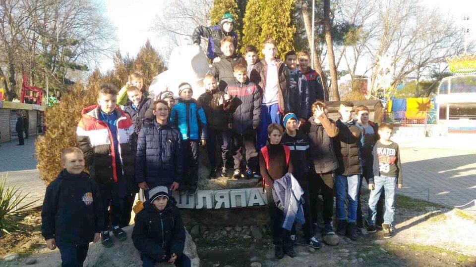 Всероссийский детский турнир по футболу в городе Анапа